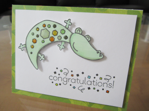Alligator Grad Card