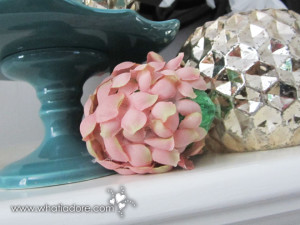Paper Mache and Floral Easter Eggs