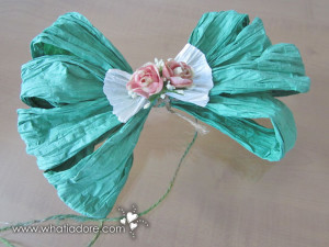 Country Craft Paper Bow
