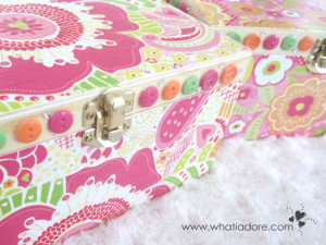 #DIY Jewellery/Keepsake Boxes using Wooden Boxes and #modpodge