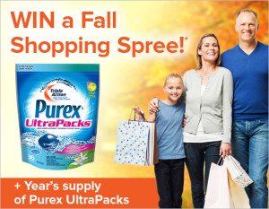Get Noticed & WIN with Purex® Ultrapacks™!
