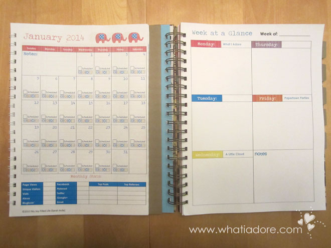 Diy Weekly Planner Pages