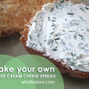 Make your own Herbed Cream Cheese Spread, So Easy!