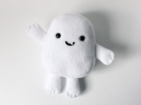 Make your own Adipose from Doctor Who