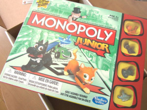 MONOPOLY Junior #Hasbro #GameNight Voxbox #Review