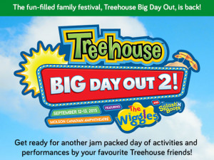 Treehouse Big Day Out 2 in #Toronto! #WIN tickets!